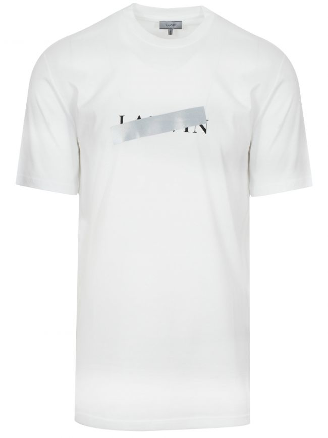 White Reflective Cross T-Shirt