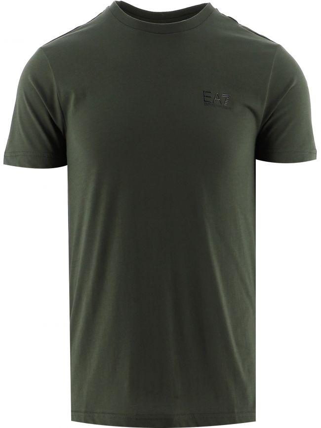 Green Short Sleeve Logo T-Shirt