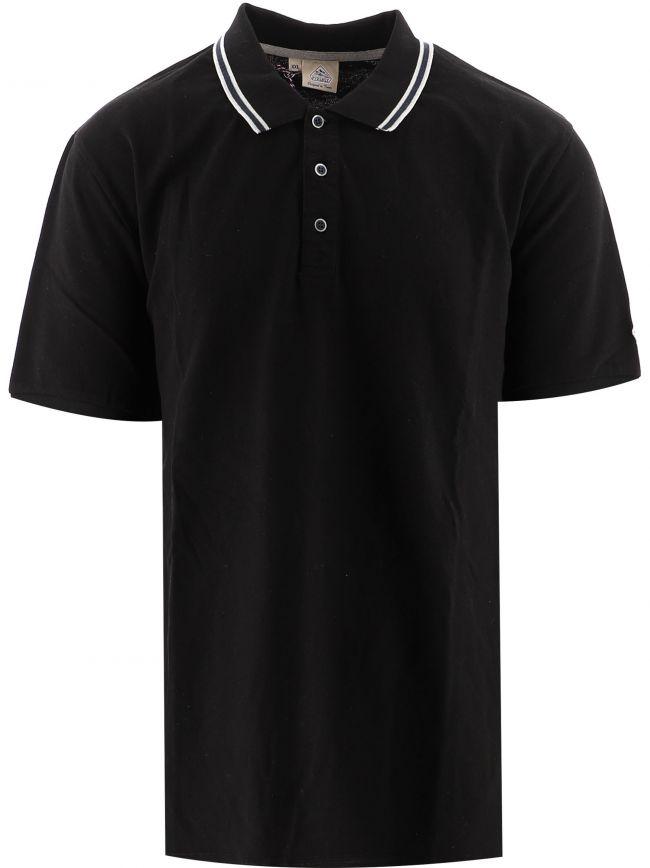 Black Lionel Logo Polo Shirt