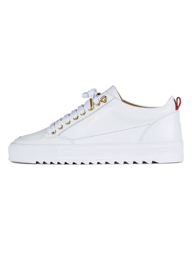 White Leather Tia Sneaker