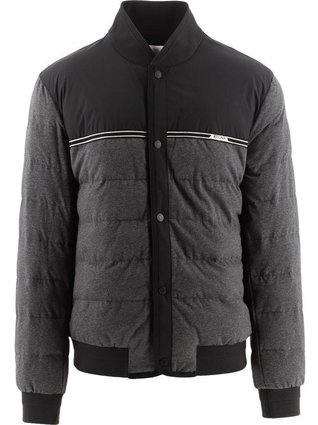 Black UseTheExisting Zipped Jacket