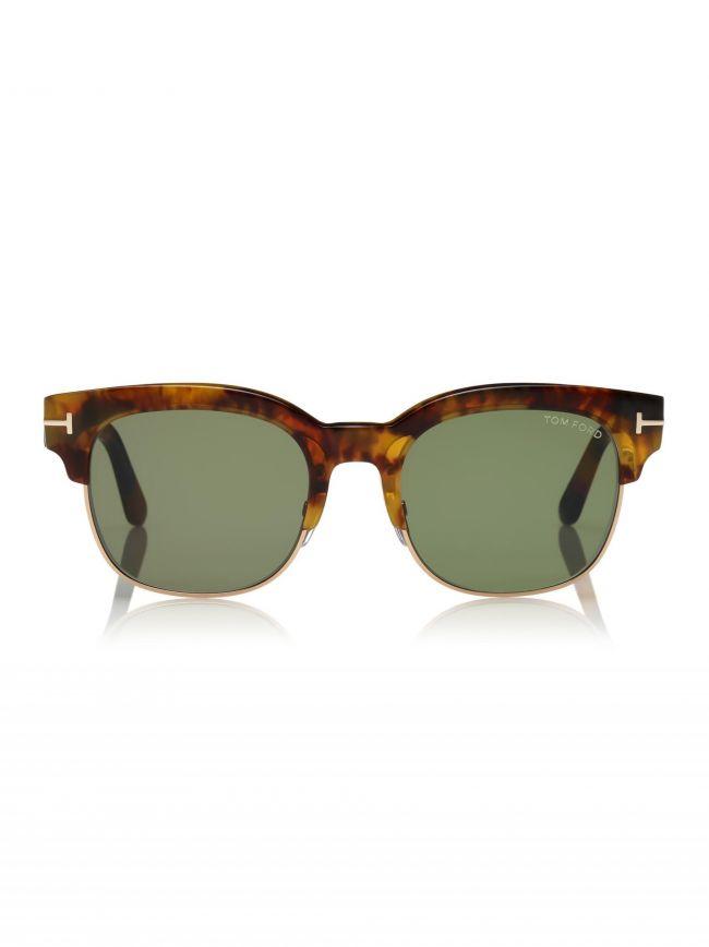 Havana & Green Harry Sunglasses