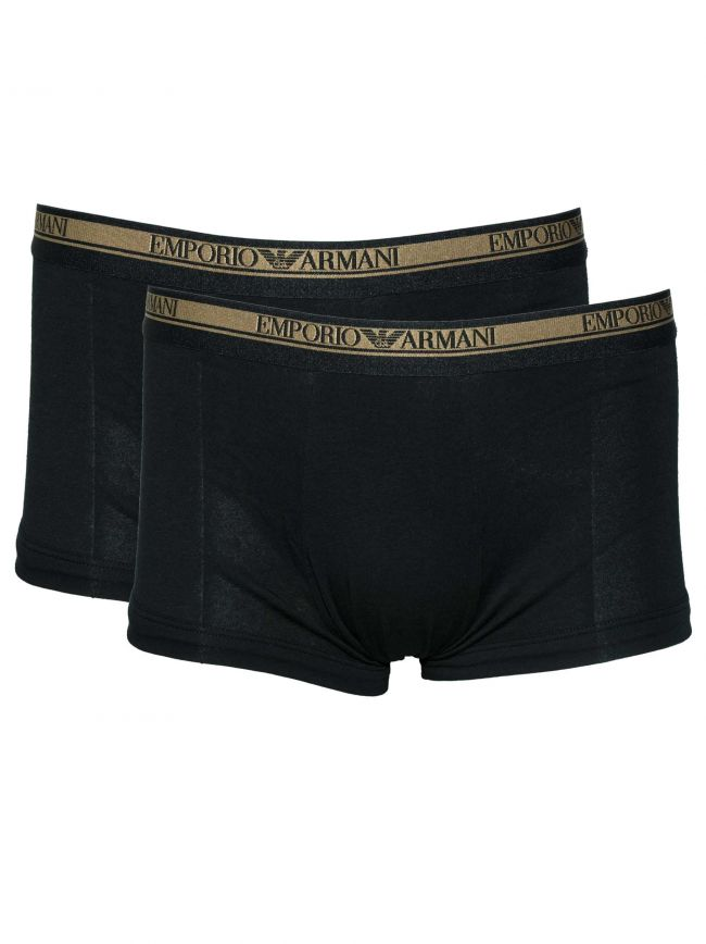 Black & Gold Logo 2-Pack Trunk