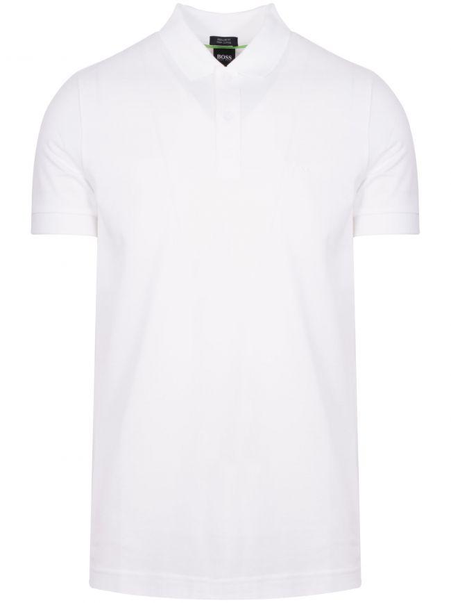 White Piro Polo Shirt