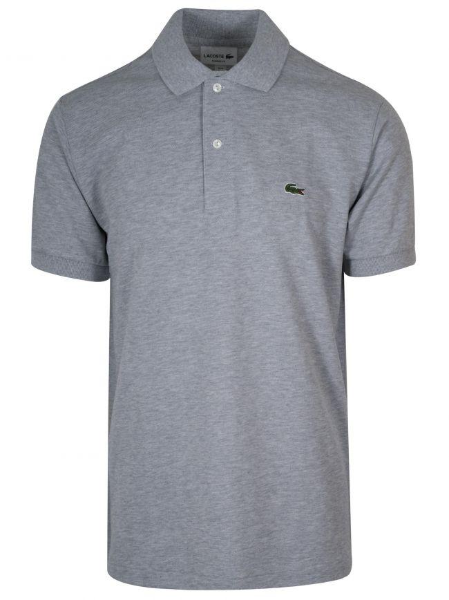 Classic Grey Polo Shirt