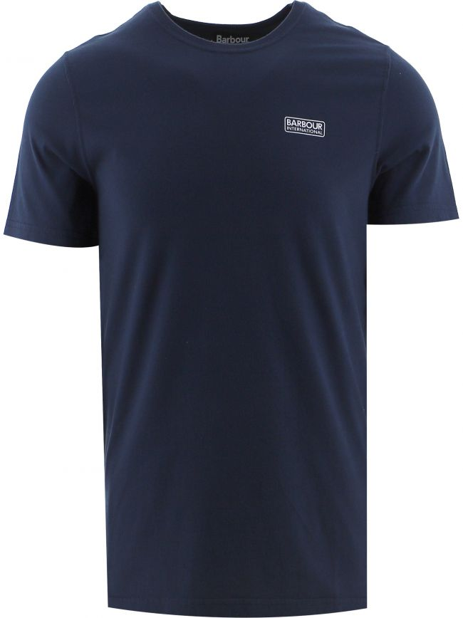 Navy Essential Large Logo T-Shirt