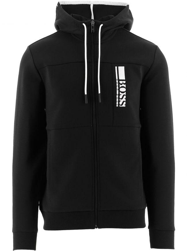 Black Hooded Saggy 1 Sweatshirt
