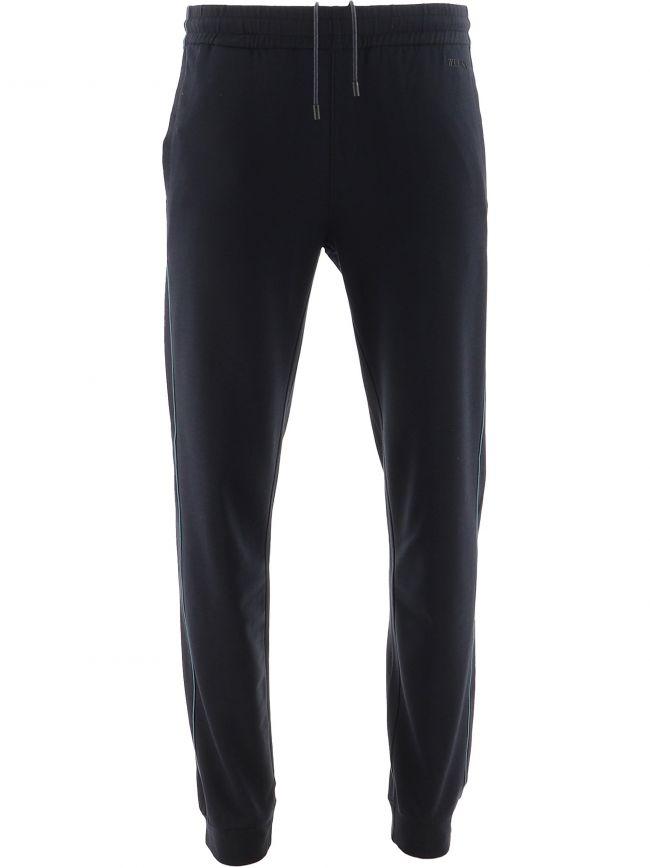 Navy Cotton Modal Jogging Pant