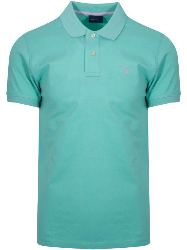 Pool Green Polo Shirt