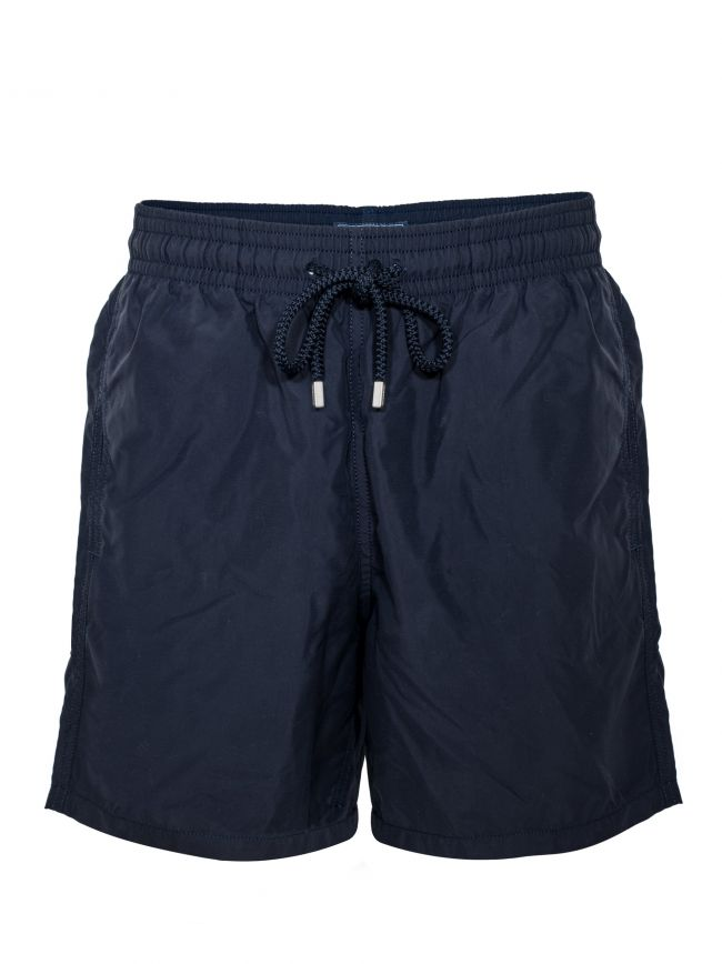 Moorea Plain Navy Swim Short