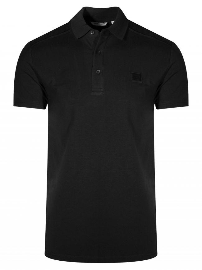Black Logo Polo Shirt