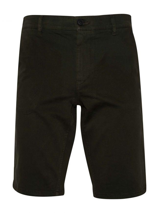 Dark Green Chino Short