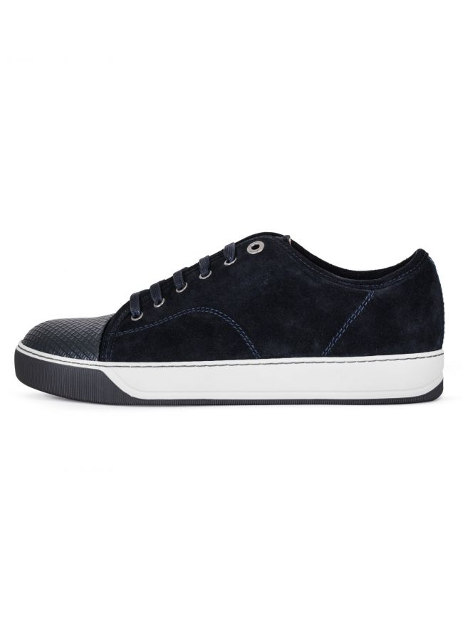 DBB1 Cap-Toe Suede & Leather Sneaker