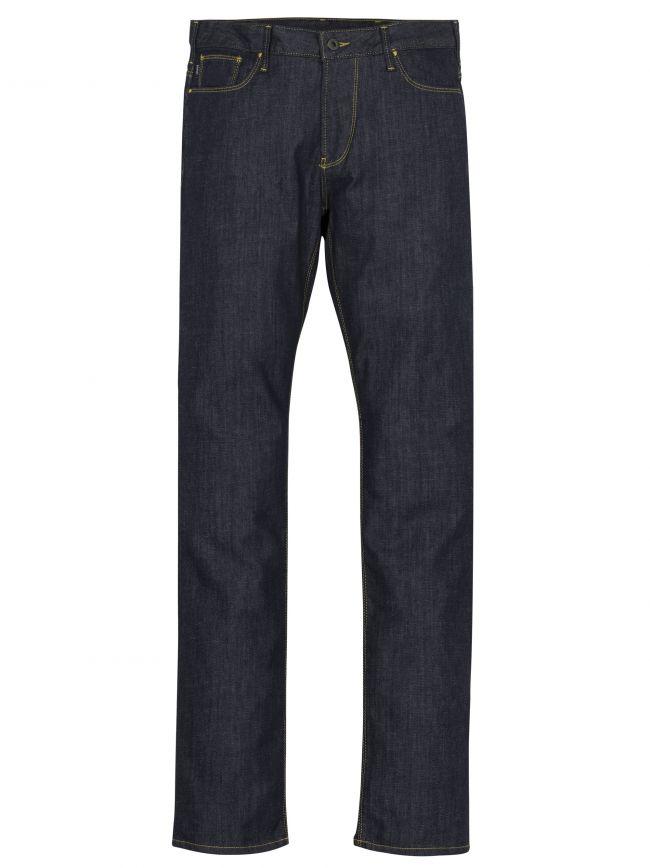 """J06 Slim Fit Indigo Twill Jean 34"""" Leg"""