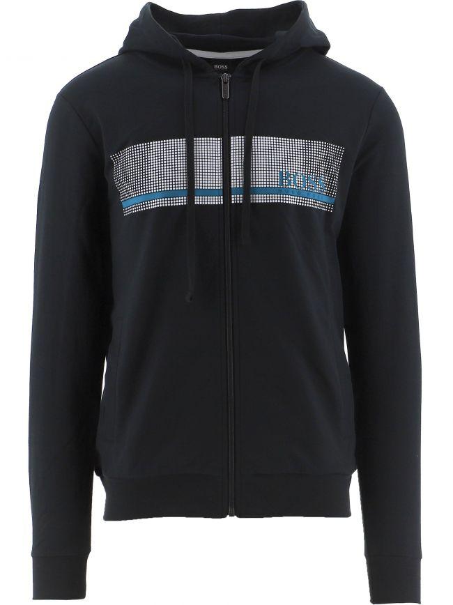 Navy Authentic Hooded Sweatshirt