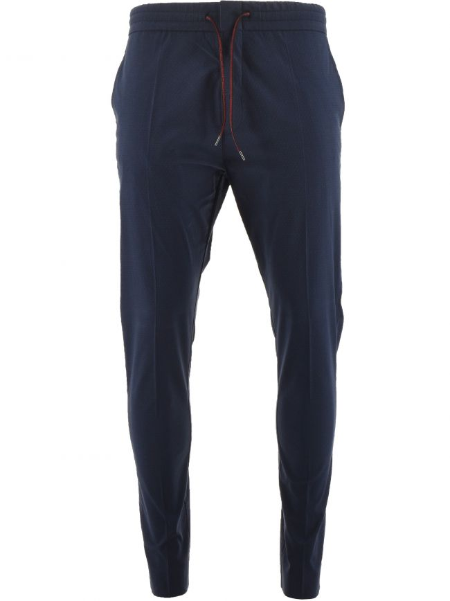 Navy Zennet 202 Casual Trousers