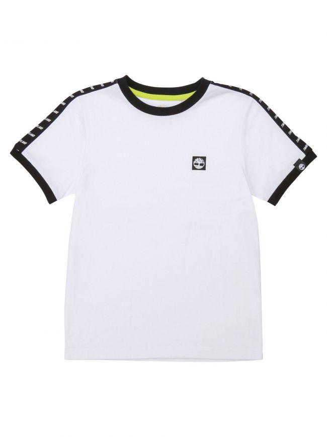 Timberland Kids White Short Sleeve T Shirt