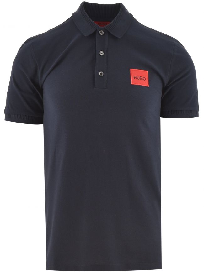 Dark Blue Dereso Square Logo Polo
