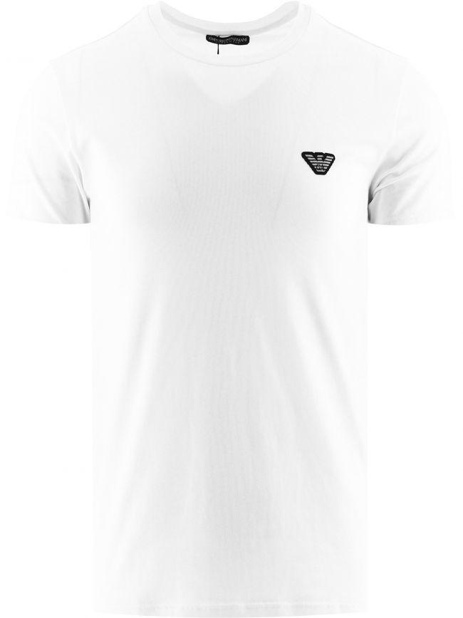 Off-White Short Sleeve Crew Neck T-Shirt