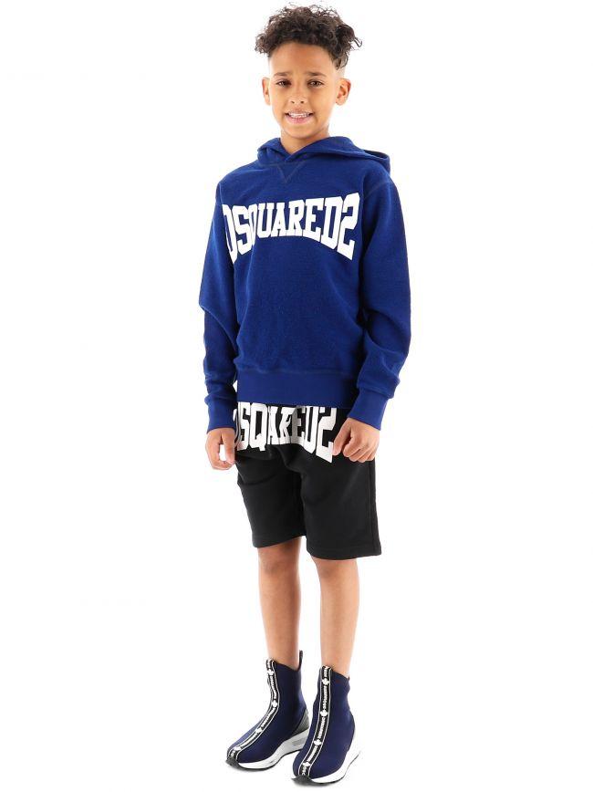 DSQUARED2 Kids Blue Cool Fit Sweatshirt