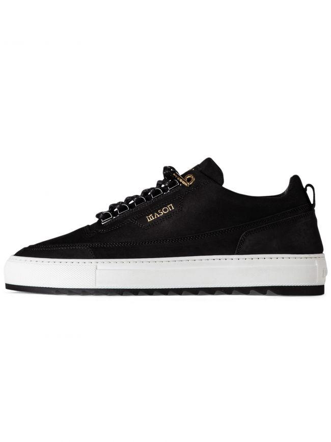 Black Firenze Nubuck Sneaker
