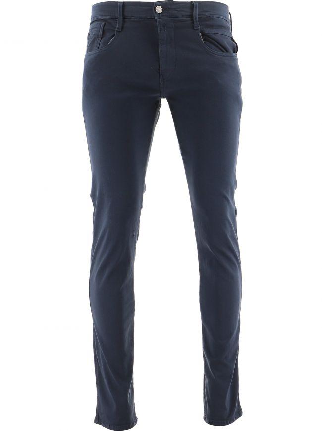 Navy Anbass Hyperflex Stretch Jean