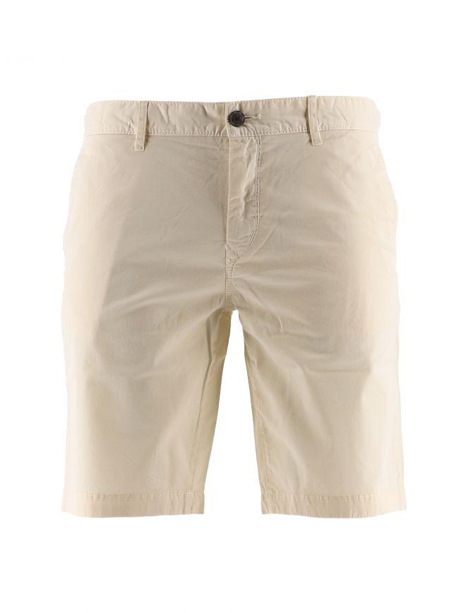 Beige S Chino Slim Shorts