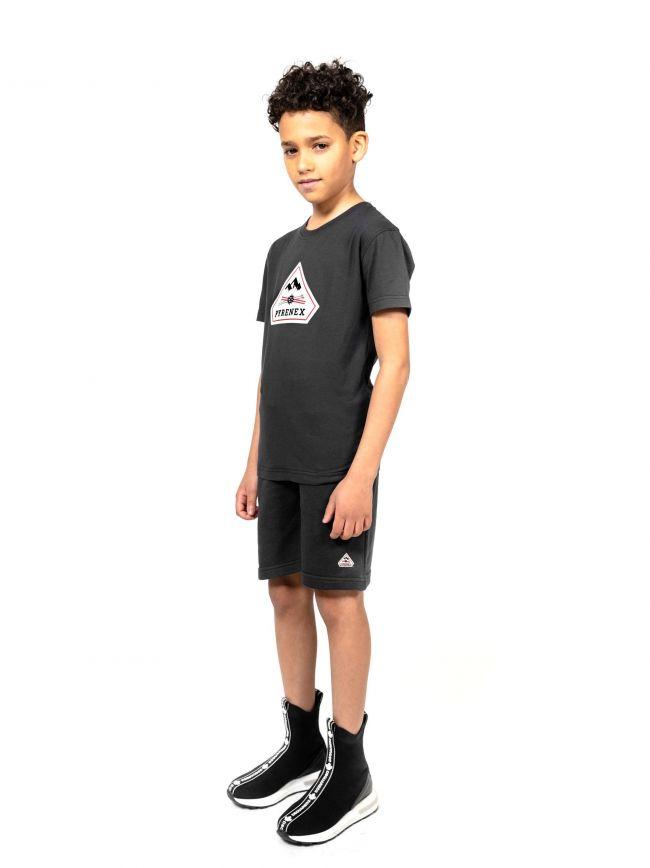 Pyrenex Kids Black Karel T-Shirt