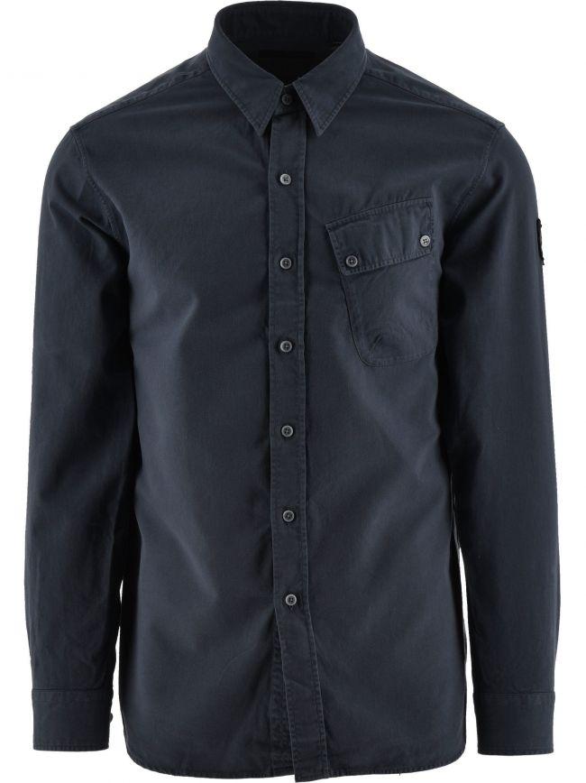 Deep Navy Pitch Twill Shirt