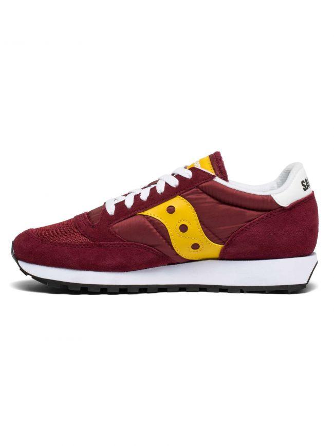 Merlot Red & Yellow Jazz Original Vintage Sneaker