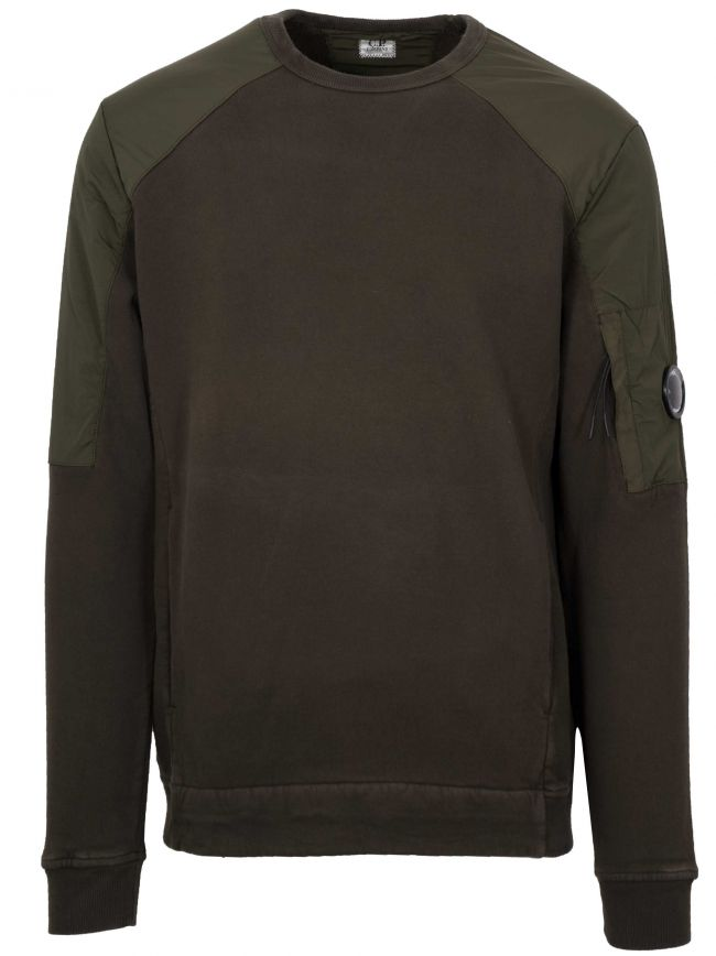 Khaki Pocket Sweatshirt