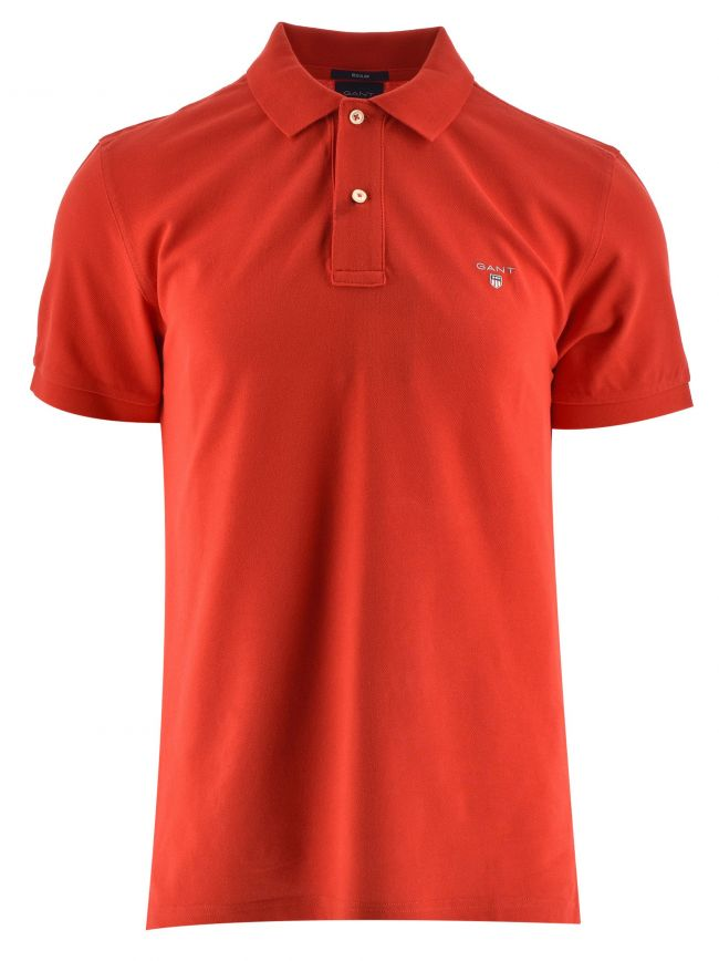 Fiery Red Classic Polo Shirt