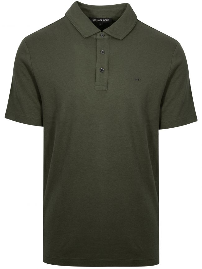 Classic Khaki Polo Shirt