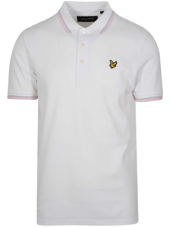 White Tipped Polo Shirt