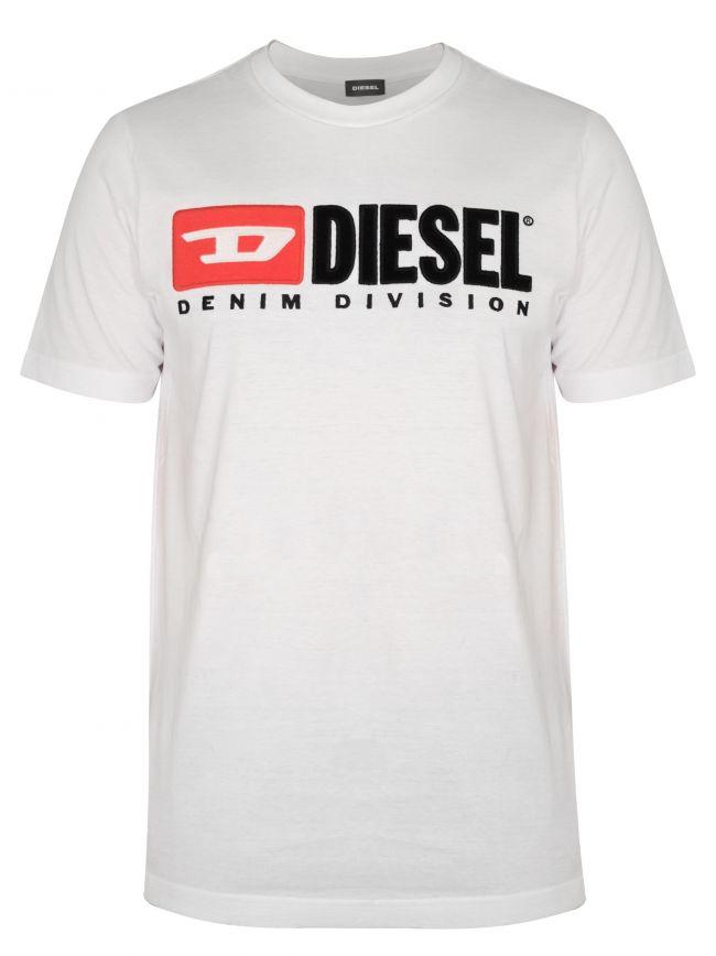 White Division Logo T-Shirt