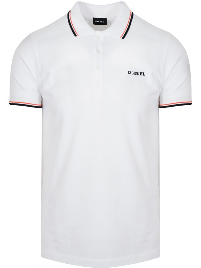 White T-Randy Polo Shirt