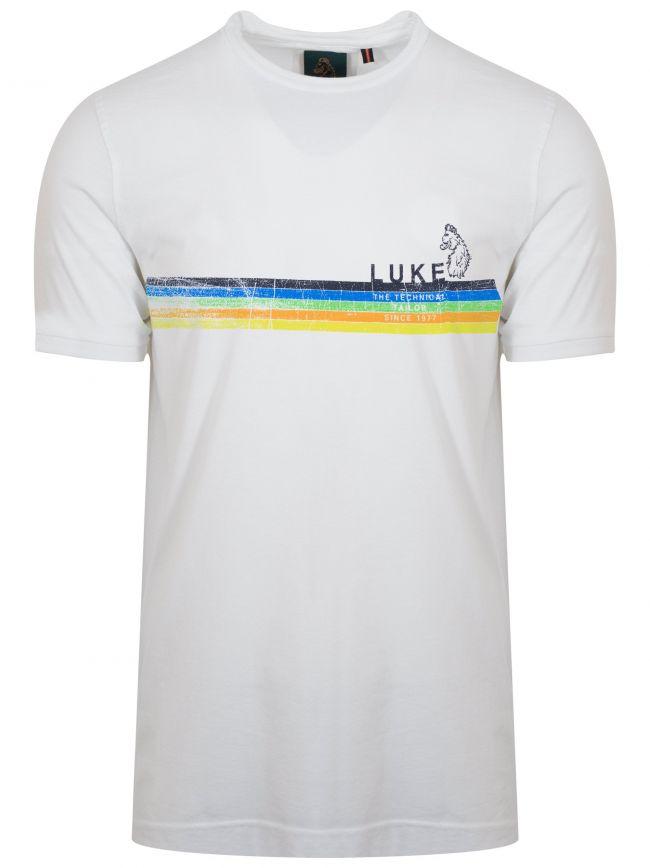 White 'Tour De 30' Short-Sleeve T-Shirt