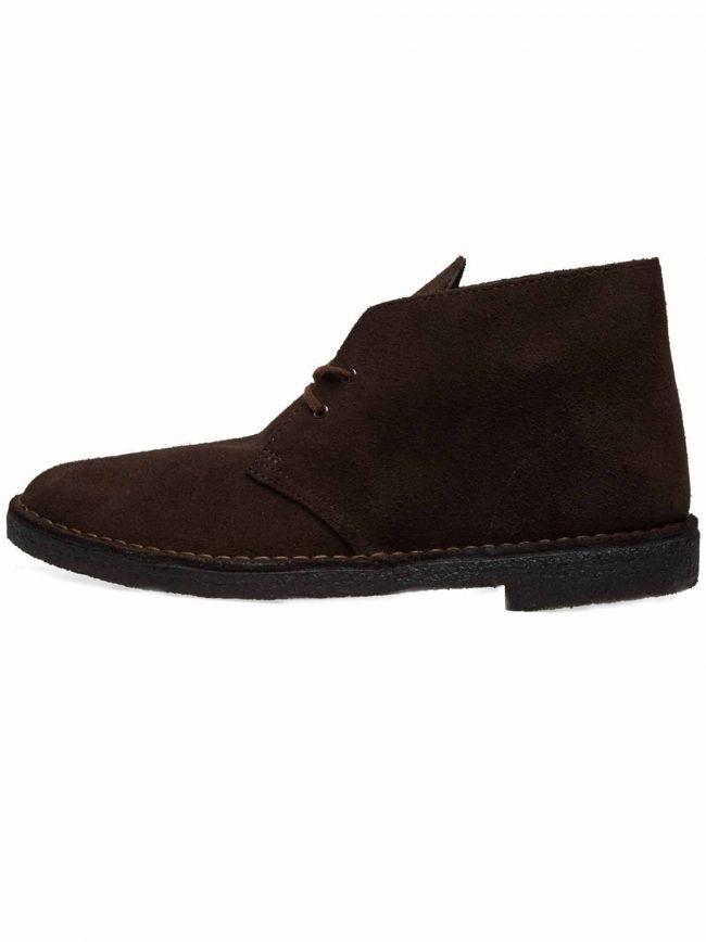 Dark Brown Suede Desert Boot