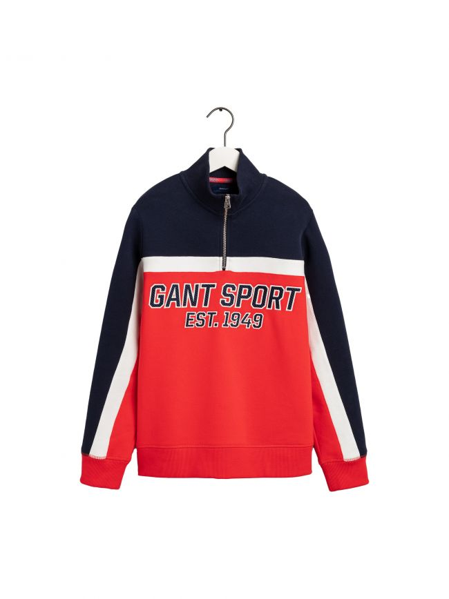 Orange Sport Full Zip Jacket