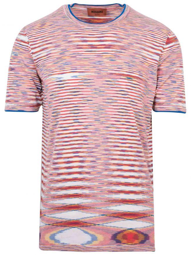 Multi-Colour Knit T-Shirt