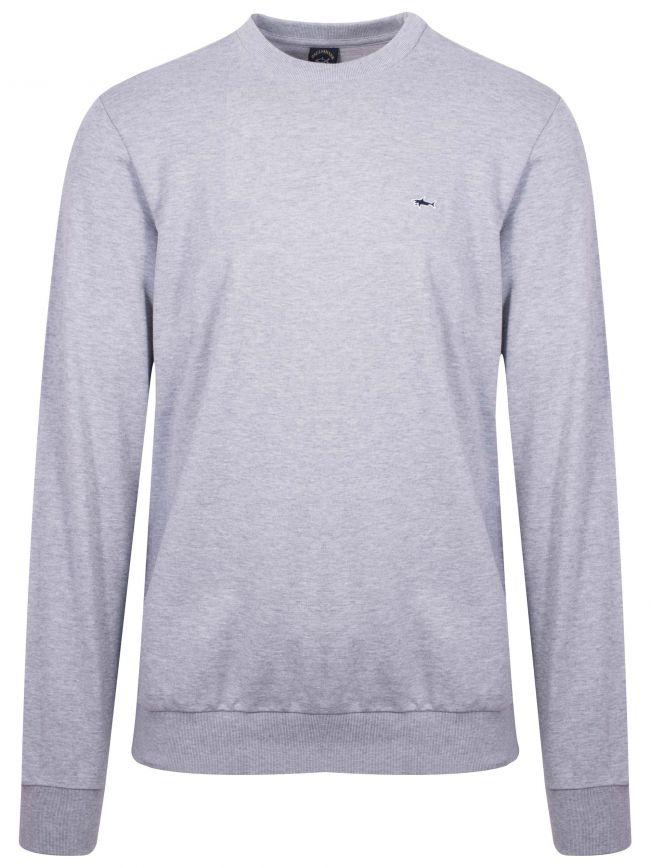 Grey Shark Logo Sweatshirt