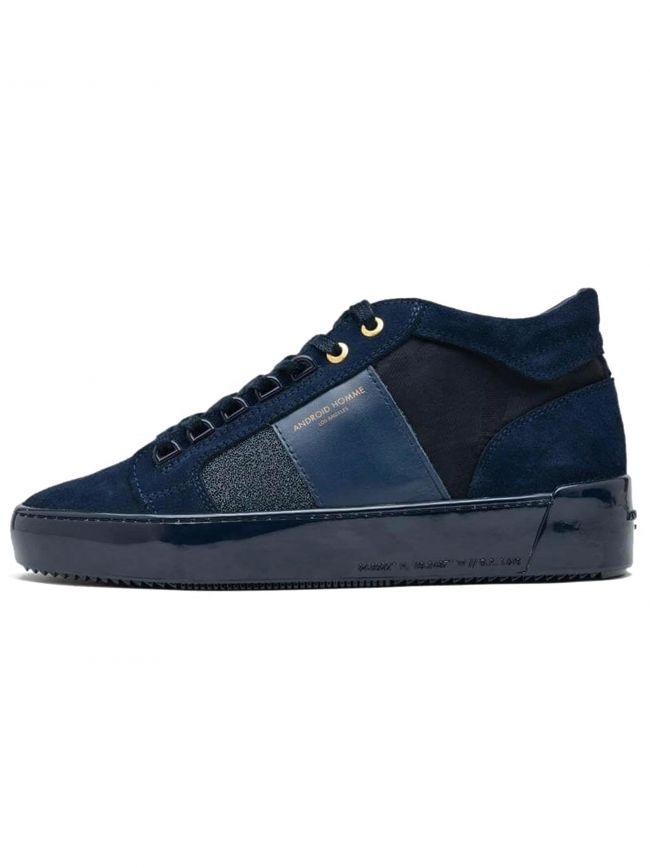 Navy Caviar Camo Propulsion Mid Sneaker