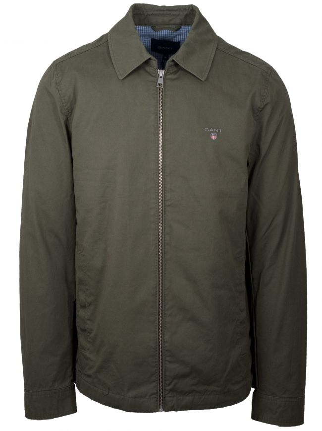 Lichen Green Windcheater Jacket