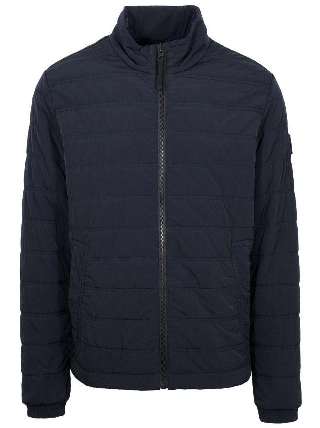Navy OWest-D Primaloft Padded Jacket