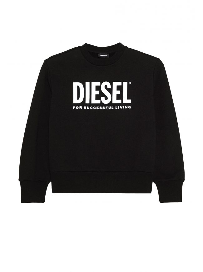Black Screw Division Logo Sweatshirt