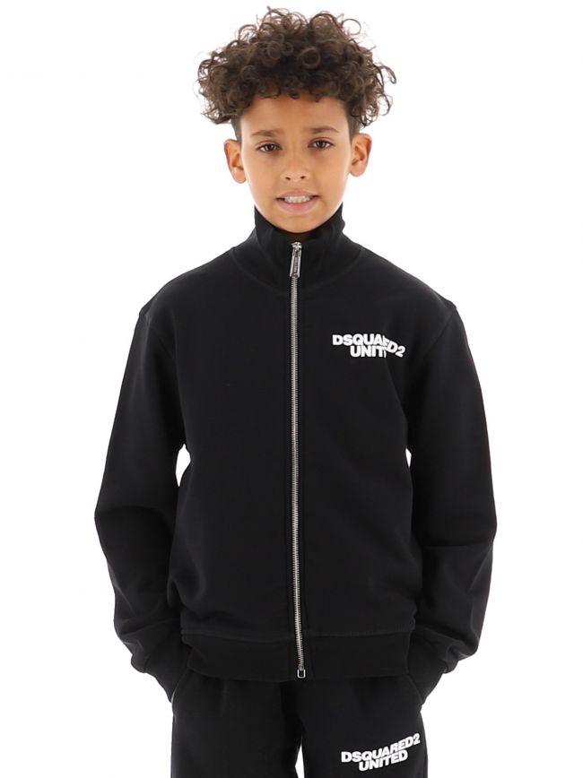 Black Logo Sweatshirt