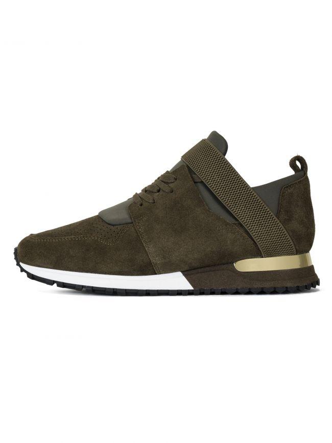 Khaki BTLR Suede Elast Sneaker