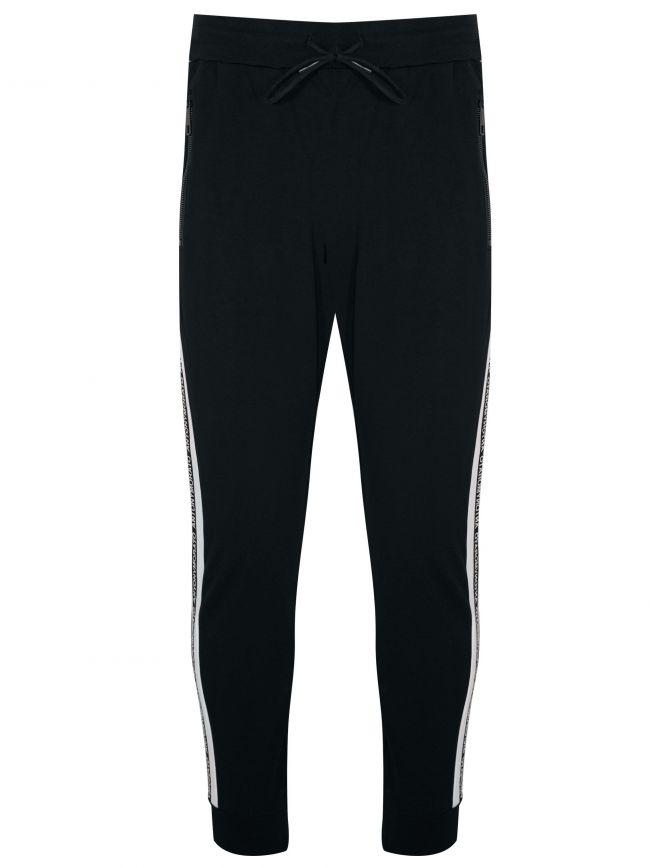 Black Tape Arm Logo Jog Pants
