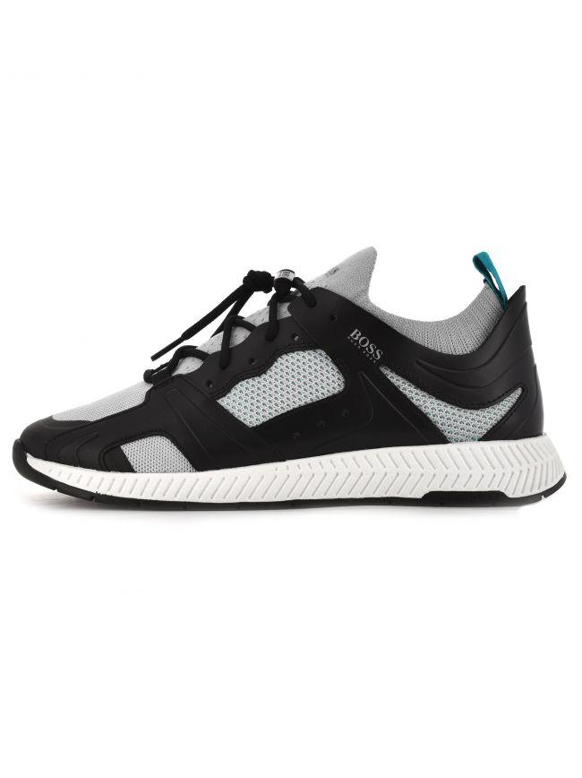 Black Titanium Runner Sneaker