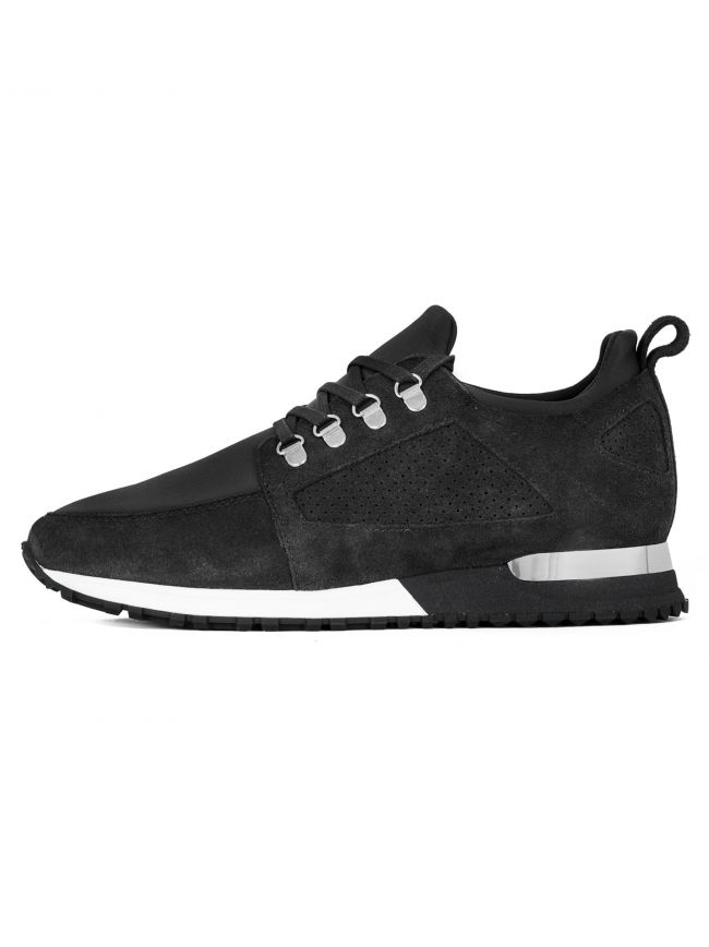 Black Suede Hiker Sneaker